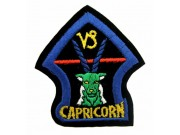 HOROSCOPE EMBROIDERED PATCH - CAPRICORN