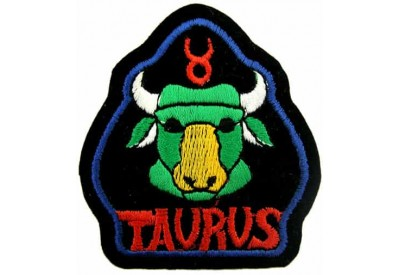 HOROSCOPE EMBROIDERED PATCH - TAURUS