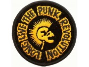LONG LIVE THE PUNK REVOLUTION ROCK PATCH