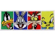 LOONEY TUNES EMBROIDERED PATCH
