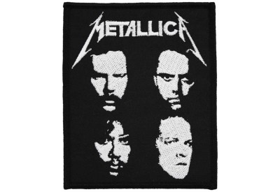 METALLICA MUSIC ROCK & PUNK EMBROIDERED PATCH #01