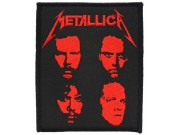 METALLICA MUSIC ROCK & PUNK EMBROIDERED PATCH #02