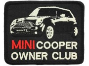 MINI COOPER OWNER CLUB EMBROIDERED PATCH