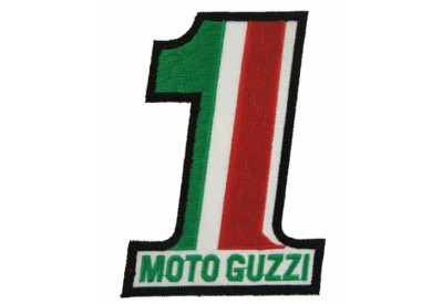 Moto Guzzi Motorcycle No 1 Embroidered Pacth #04