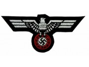 WWII NAZI PARTY ADOLLF HITLE IRON CROSS PATCH #02