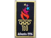 1996 OLYMPIC GAMES - ATLANTA USA EMBROIDERED PATCH