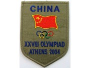 2004 ATHENS OLYMPIC - CHINA EMBROIDERED PATCH