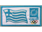 2004 ATHENS OLYMPIC - GREECE EMBROIDERED PATCH