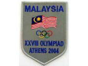 2004 ATHENS OLYMPIC - MALAYSIA EMBROIDERED PATCH