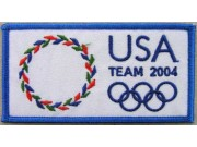 2005 ATHENS OLYMPIC - USA EMBROIDERED PATCH
