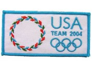 2006 ATHENS OLYMPIC - USA EMBROIDERED PATCH