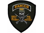 US AMRY RANGER IRON ON EMBROIDERED PATCH #01