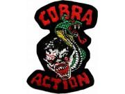 COBRA ACTION PUNK / ROCK PATCH