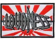 LOUDNESS MUSIC PUNK & ROCK EMBROIDERED PATCH #02