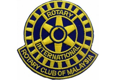 ROTARY CLUB OF MALAYSIA EMBROIDERED PATCH