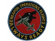 RSAF SINGAPORE AIRFORCE WEAPON OPERATIONS PATCH
