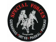 MALAYSIA ARMY SPECIAL FORCES PASKAL PATCH #4a