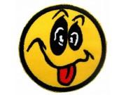 SMILEY FACE PUNK & ROCK PATCH
