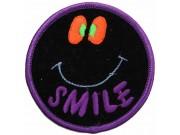 SMILEY FACE PUNK & ROCK PATCH #04