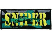 SNIPER SHOOTING SPORT ARMY EMBROIDERED PATCH #01