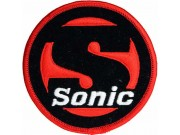 SONIC GAMES IRON ON EMBROIDERED PATCH #01