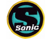 SONIC GAMES IRON ON EMBROIDERED PATCH #03