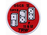 DSCS 2 FLIGHT, SPACE PATCH