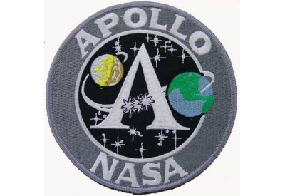 GIANT NASA APOLLO ASTRONAUT SPACE PATCH (XL)