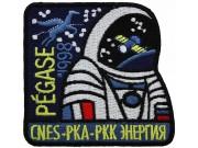 1998 USSR RUSSIA SPACE FLIGHT SOYUZ TM-27 PATCH