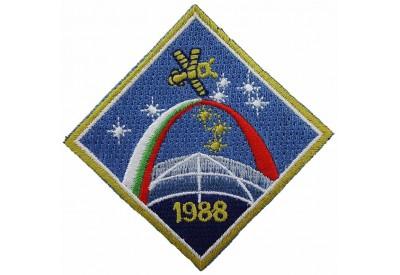 1988 USSR RUSSIA SPACE FLIGHT SOYUZ TM-5 PATCH