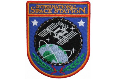NASA ISS INTERNATIONAL SPACE STATION PATCH