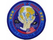 2009 RUSSIA SPACE FLIGHT SOYUZ TMA-14 PATCH