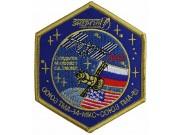 2009 RUSSIA SPACE FLIGHT SOYUZ TMA-14 PATCH #2