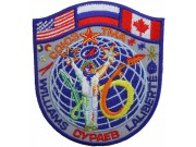 2009 RUSSIA SPACE FLIGHT SOYUZ TMA-16 PATCH