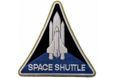 NASA SPACE SHUTTLE FLIGHT PROGRAM PATCH