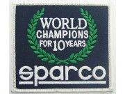 SPARCO RACING SPORT IRON ON EMBROIDERED PATCH #02