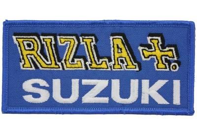 SUZUKI RIZLA BIKER MOTO GP EMBROIDERED PATCH #15