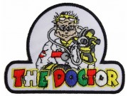 YAMAHA THE DOCTOR 46 MOTORCYCLE BIKER PATCH #01