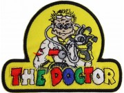 YAMAHA THE DOCTOR 46 MOTORCYCLE BIKER PATCH #02