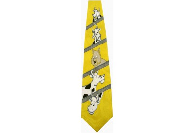 FARM ANIMAL TIE NOVELTY NECKTIE #02