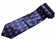 LUCK BLESSING TIE NOVELTY CHINESE NECKTIE #03