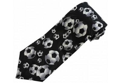 FOOTBALLS TIE SOCCER NOVELTY NECKTIE #01