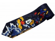 MICKEY MOUSE TIE CARTOON NOVELTY NECKTIE #03