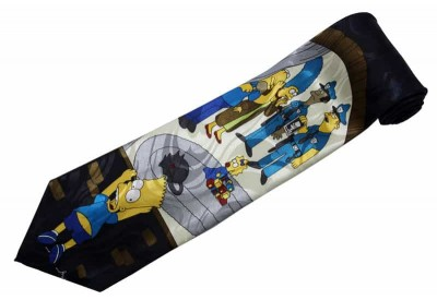 THE SIMPSON FANCY CARTOON TIE NOVELTY NECKTIE #06