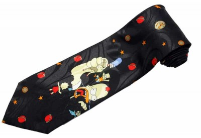 THE SIMPSON FANCY CARTOON TIE NOVELTY NECKTIE #09