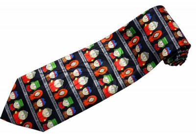 SOUTH PARK CARTOON TIE NOVELTY COMIC NECKTIE #01