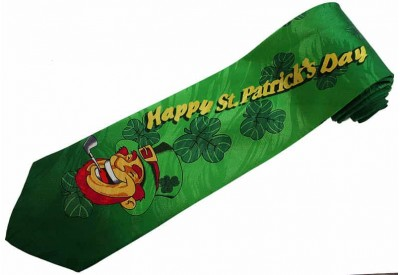 HAPPY ST.PATRICK'S DAY NECKTIE NOVELTY TIE #01