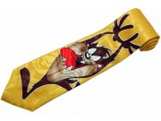 TAZ LOONEY TUNES CARTOON TIE NOVELTY NECKTIE #03