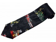 CLASSIC TRAIN LOCOMOTIVE TIE NOVELTY NECKTIE #02