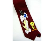 TWEETY BIRD & SYLVESTER CARTOON NOVELTY NECKTIE 05